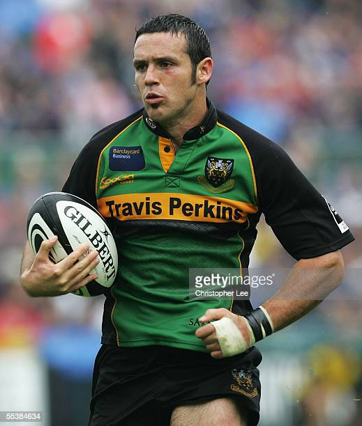 Northampton Saints V Bath Rugby: Seamus Mallon Rugby Stock Photos And Pictures