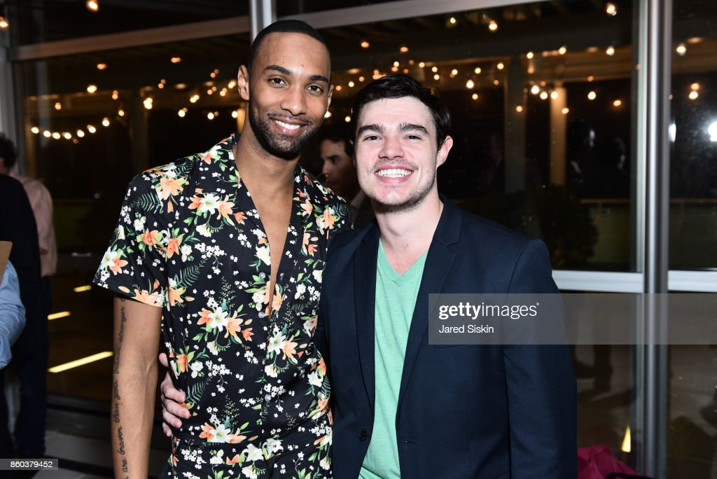 Sean Aaron Carmon and Tim Stickney attend Joshua Beamish + MOVETHECOMPANY Premieres 'Saudade' in NYC at Brooklyn Academy of Music on October 11, 2017 in New York City.
