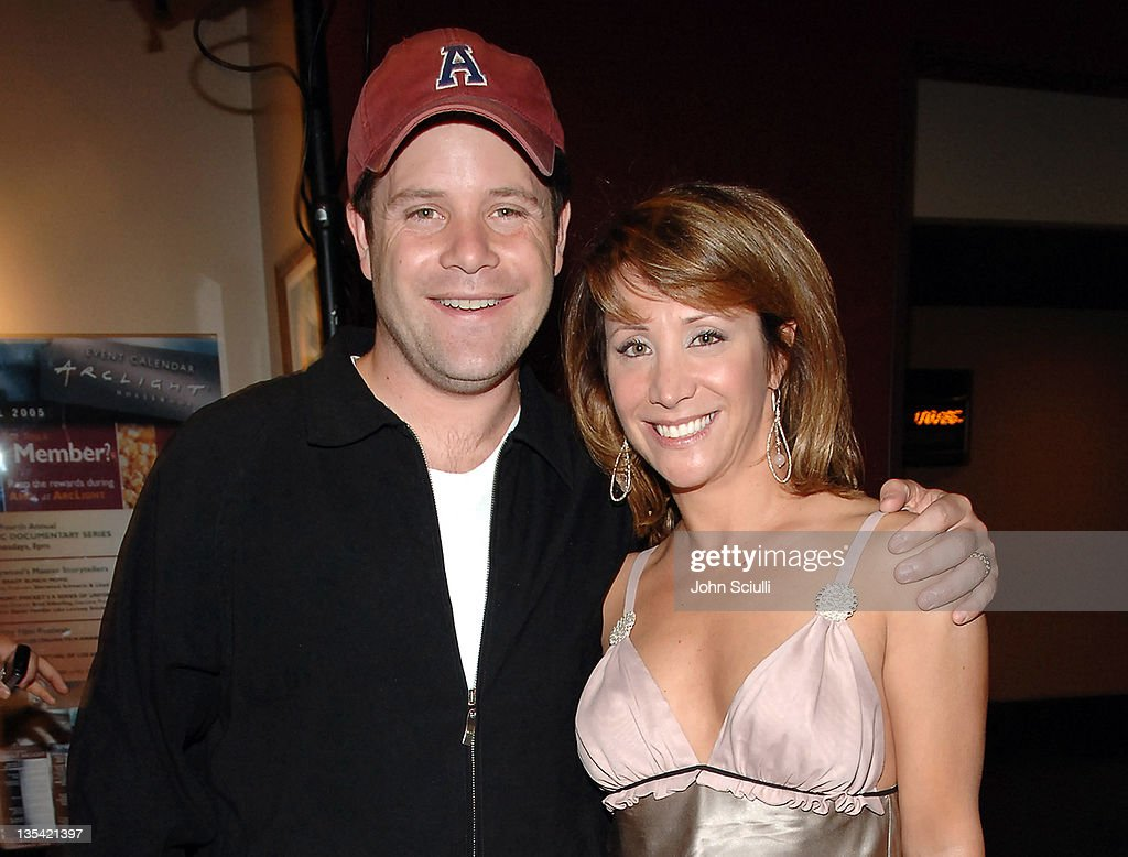 Sean Astin and Cheri Oteri during 'Smile' Los Angeles Premiere - After Party at Arclight Theater in Hollywood, California, United States.
