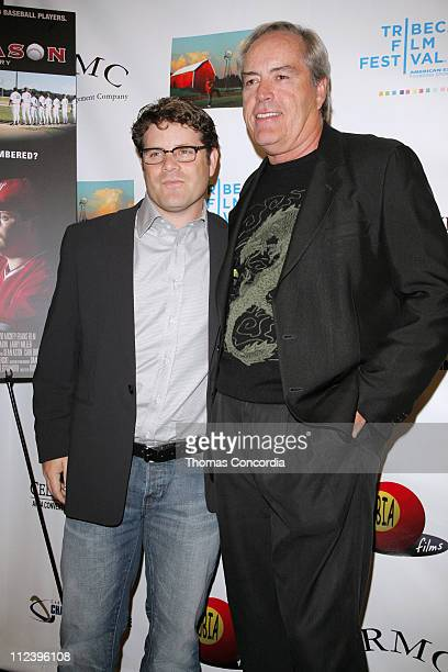 Sean Astin and Powers Boothe during 6th Annual Tribeca Film Festival 'The Final Season' Arrivals at Pace University's Schimmel Center for the Arts in...