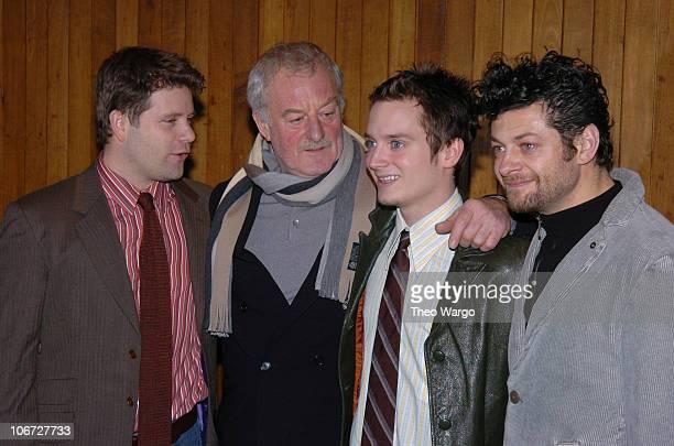 Sean Astin Bernard Hill Elijah Wood and Andy Serkis