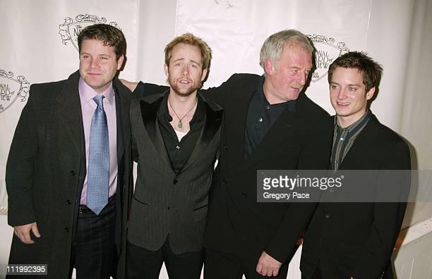 Sean Astin Billy Boyd Bernard Hill and Elijah Wood
