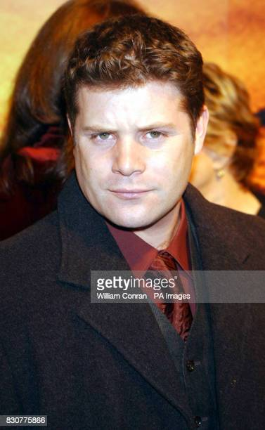 Sean Austin at the Tobacco Dock in London for the after show party of the world premiere of Lord of the Rings The Fellowship of the Ring