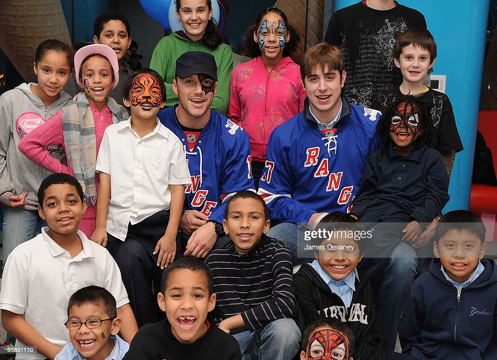 Garden Of Dreams Foundation Event With The New York Rangers
