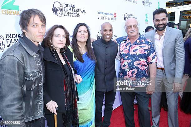 Sean Baker Berenice Reynaud Jasmine Jaisinghani Ravi Mehta Yoram Kahana and Abhay Deol attend the 13th Annual Indian Film Festival Of Los Angeles...