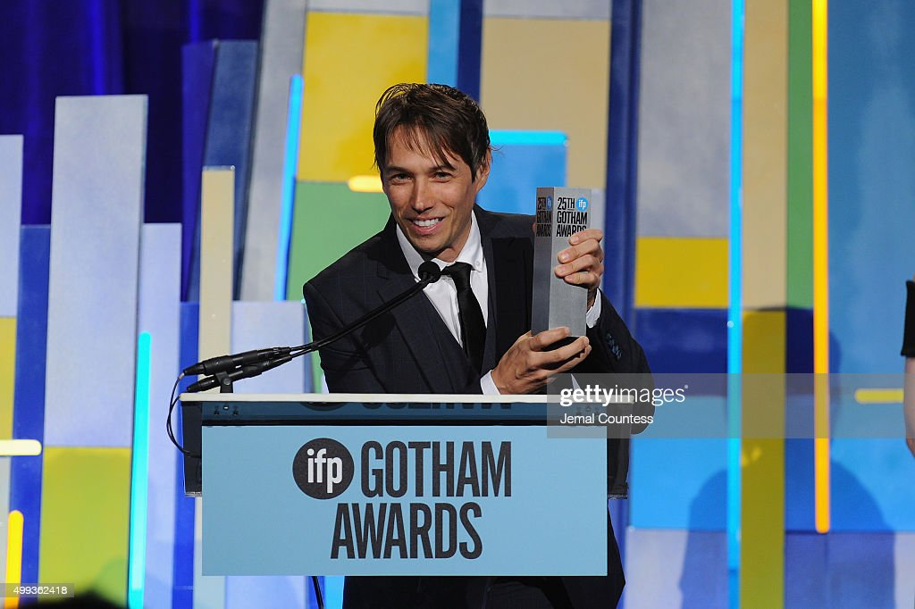 Sean Baker speaks onstage at the 25th IFP Gotham Independent Film Awards co-sponsored by FIJI Water at Cipriani, Wall Street on November 30, 2015 in New York City.