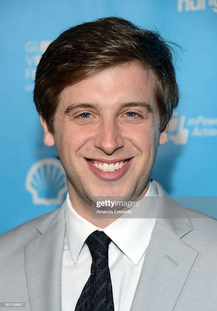 Sean Bartlett arrives at the United Nations Foundation's 'mPowering Action' Innovative Mobile Platform launch party at The Conga Room at L.A. Live on February 8, 2013 in Los Angeles, California.