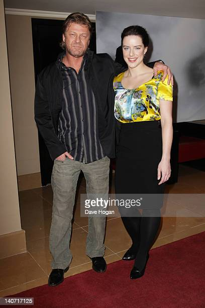 Sean Bean and Michelle Ryan attend a special screening of Cleanskin at The Mayfair Hotel on March 5 2012 in London England