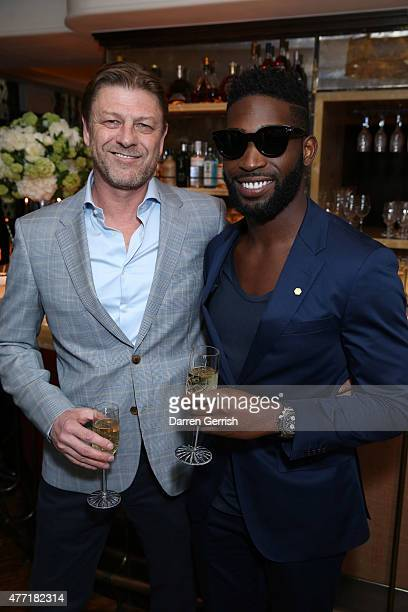 Sean Bean and Tinie Tempah attend the Tommy Hilfiger Dinner on June 14 2015 in London England