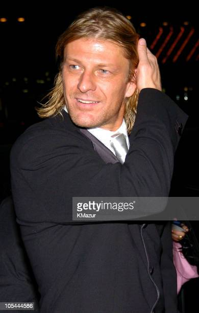 Sean Bean during 'Troy' New York Premiere After Party Arrivals at Cipriani's in New York City New York United States