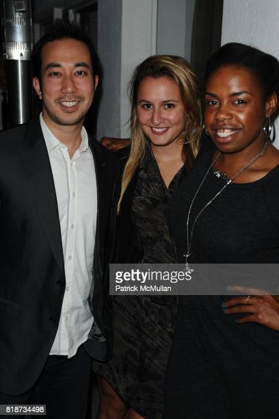 Sean Cheng Isabel Wilkinson and Wynter Mitchell attend Bret Easton Ellis to celebrate the publication of his new novel IMPERIAL BEDROOMS at Penthouse...