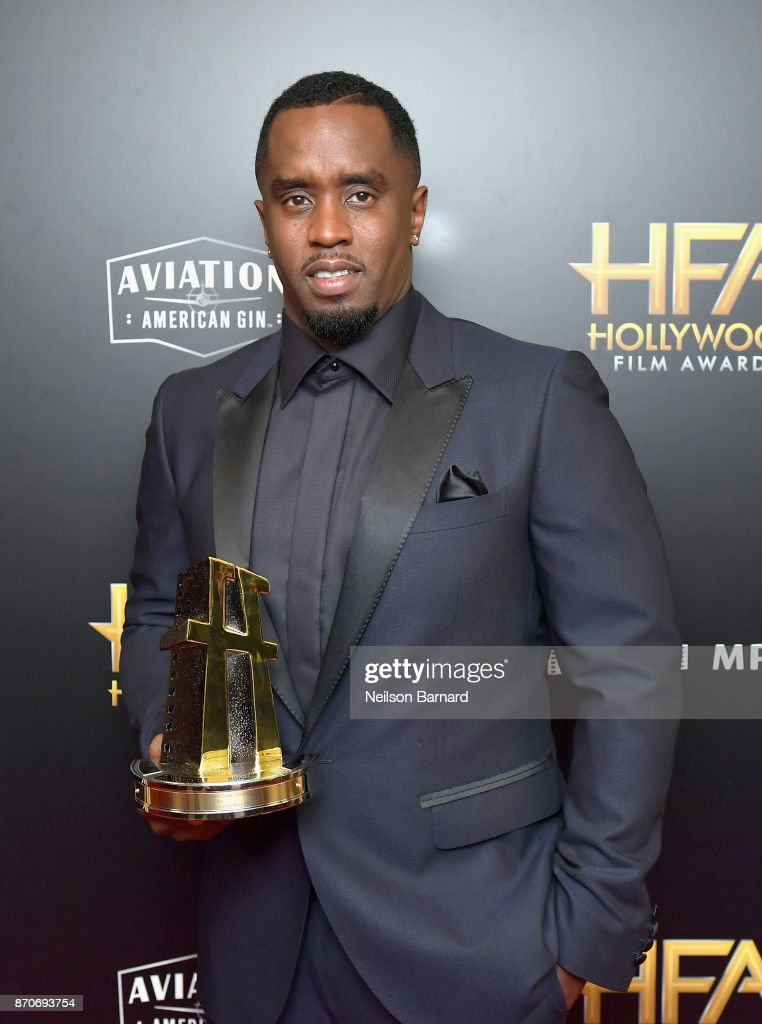 Sean Combs aka Brother Love, recipient of the Hollywood Documentary Award for 'Can't Stop Won't Stop: A Bad Boy Story,' poses in the press room during the 21st Annual Hollywood Film Awards at The Beverly Hilton Hotel on November 5, 2017 in Beverly Hills, California.