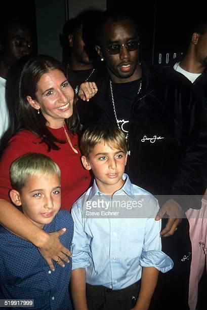 Sean Combs and Bobbi Brown at Bobbi Brown event New York 1990s