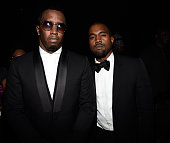Sean Combs and Kanye West attend Keep A Child Alive's 11th Annual Black Ball at Hammerstein Ballroom on October 30 2014 in New York City