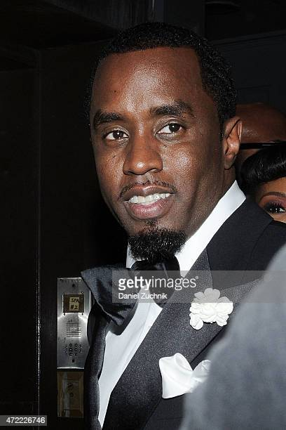 Sean Combs arrives at Rihanna's Private Met Gala After Party at Up Down on May 4 2015 in New York City
