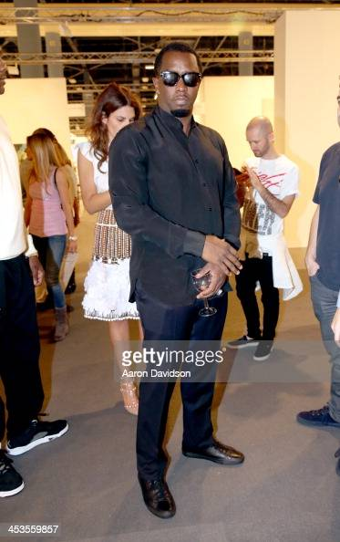 Sean Combs attends Art Basel Miami Beach 2013 at the Miami Beach Convention Center on December 4 2013 in Miami Beach Florida