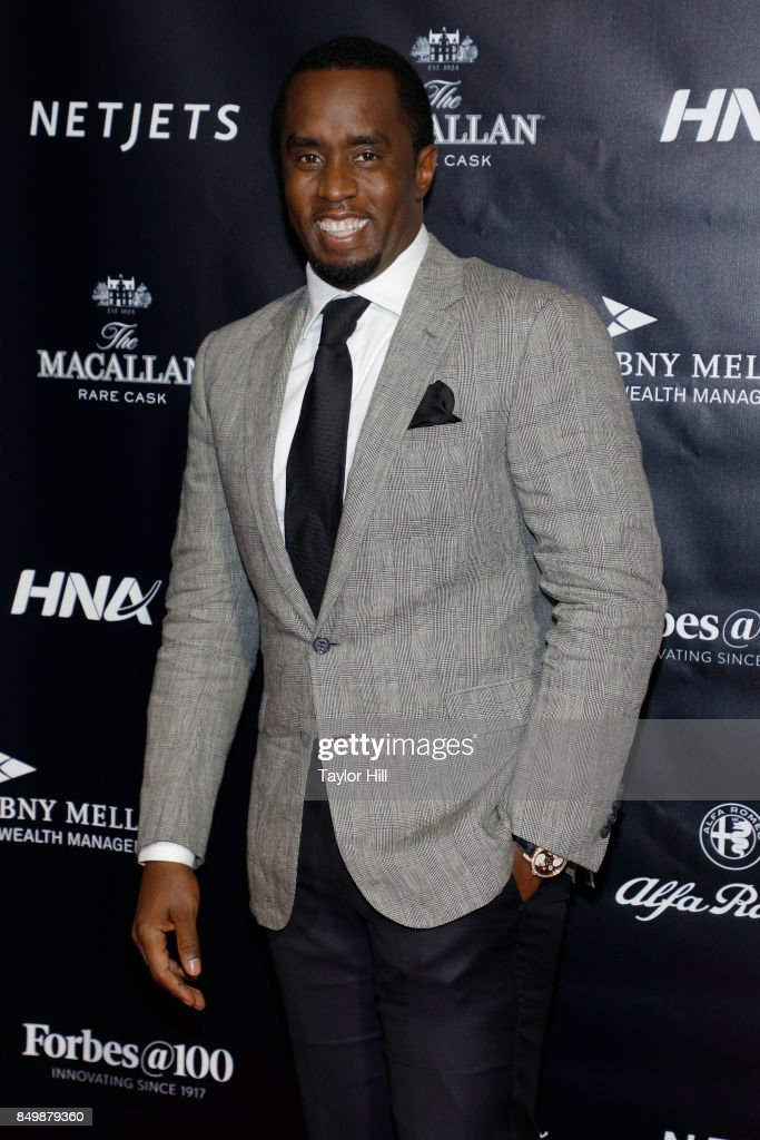 Sean Combs attends the Forbes Media Centennial Celebration at Pier 60 on September 19, 2017 in New York City.