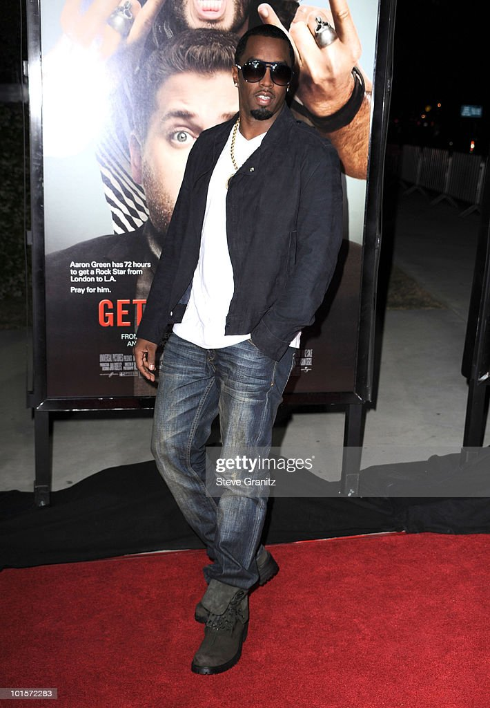 Sean Combs attends the 'Get Him To The Greek' Los Angeles Premiere at The Greek Theatre on May 25, 2010 in Los Angeles, California.