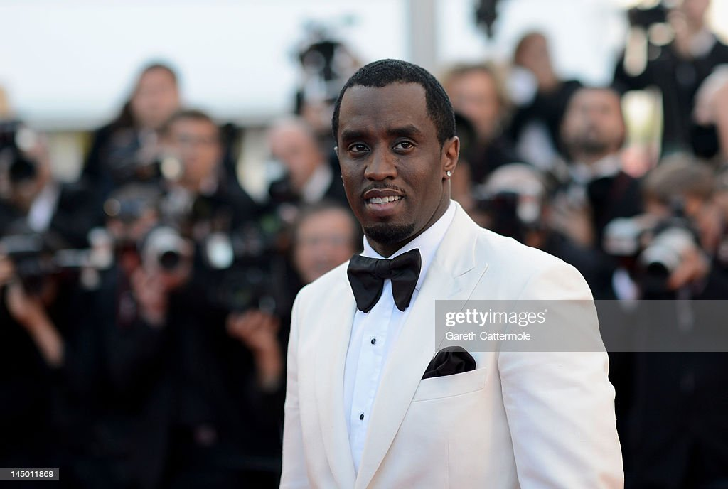 Sean Combs attends the 'Killing Them Softly' Premiere during 65th Annual Cannes Film Festival at Palais des Festivals on May 22 2012 in Cannes France