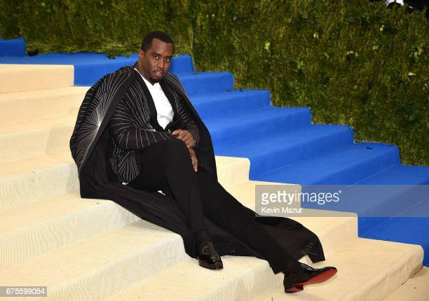 Sean Combs attends the 'Rei Kawakubo/Comme des Garcons Art Of The InBetween' Costume Institute Gala at Metropolitan Museum of Art on May 1 2017 in...