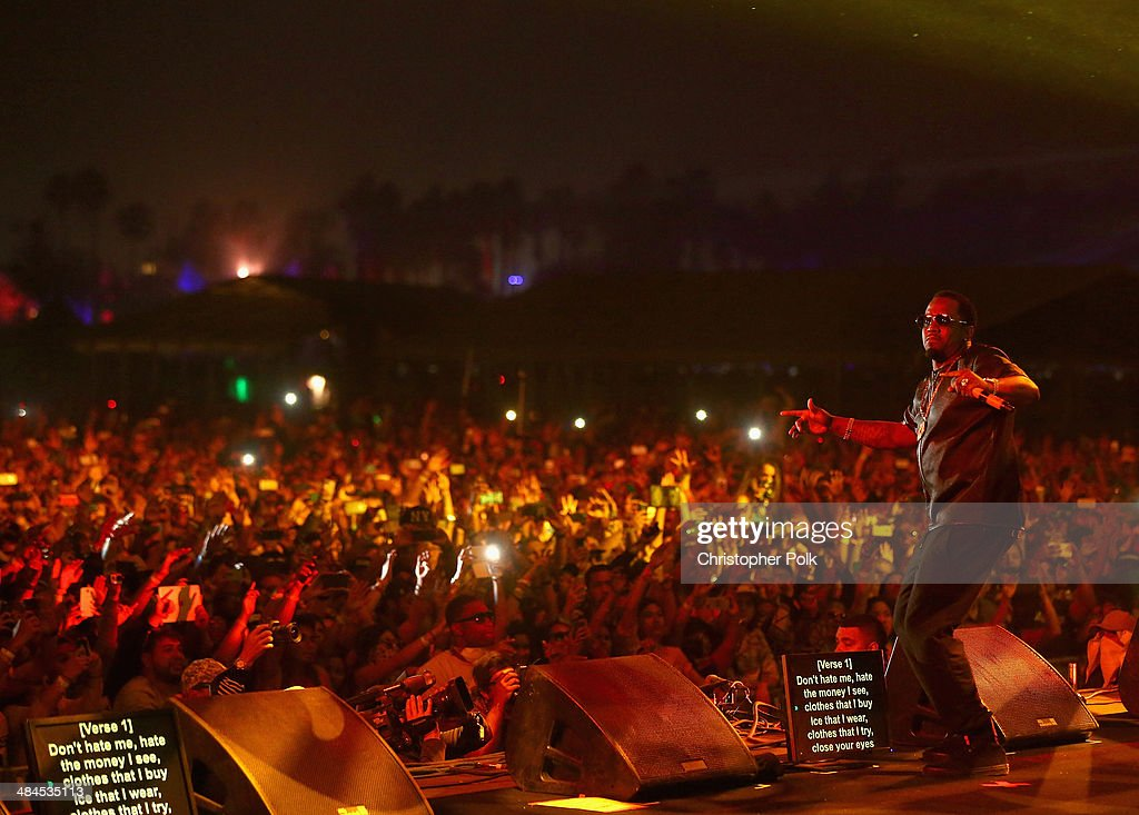 <a gi-track='captionPersonalityLinkClicked' href=/galleries/search?phrase=Sean+Combs&family=editorial&specificpeople=178993 ng-click='$event.stopPropagation()'>Sean Combs</a> performs with Nas onstage during day 2 of the 2014 Coachella Valley Music & Arts Festival at the Empire Polo Club on April 12, 2014 in Indio, California.