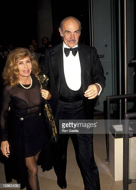 Sean Connery and Wife Micheline Roquebrune