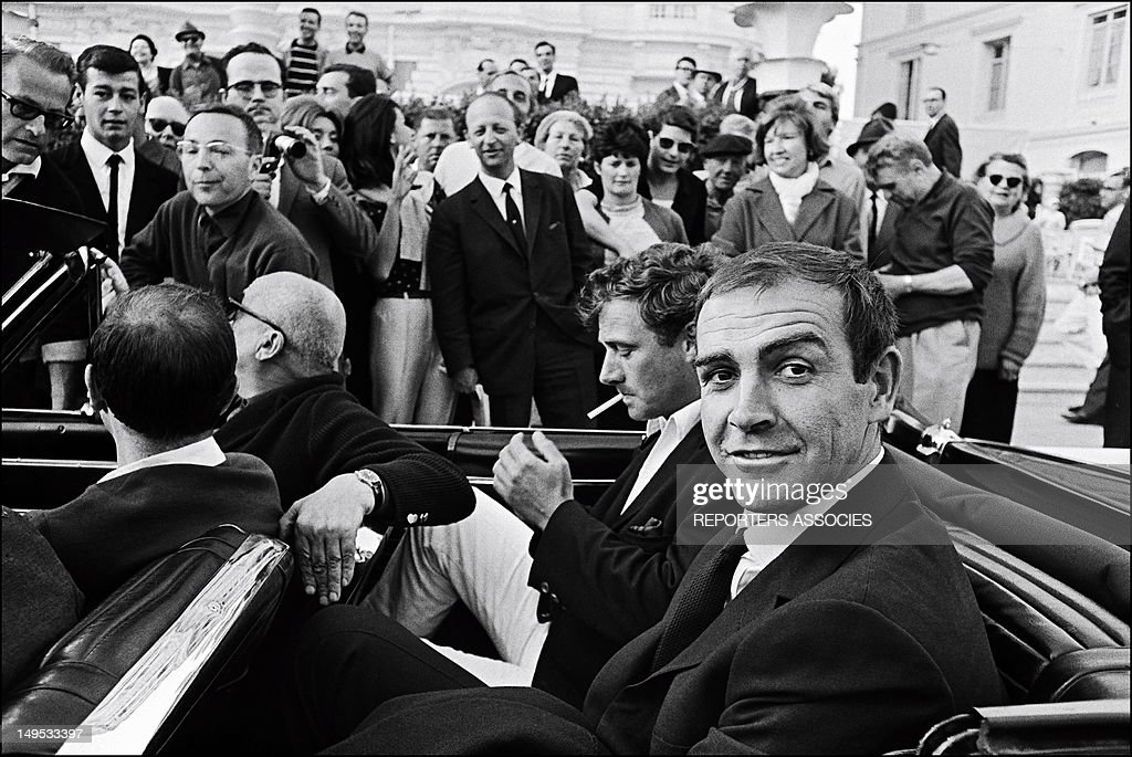 <a gi-track='captionPersonalityLinkClicked' href=/galleries/search?phrase=Sean+Connery&family=editorial&specificpeople=201589 ng-click='$event.stopPropagation()'>Sean Connery</a> at the Cannes Film festival on May 24, 1965 in Cannes, France.