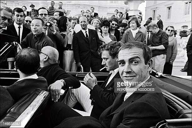 Sean Connery at the Cannes Film festival on May 24 1965 in Cannes France