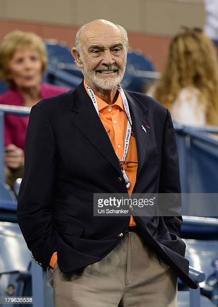 Sean Connery attends the 2013 US Open at USTA Billie Jean King National Tennis Center on September 5 2013 in New York City