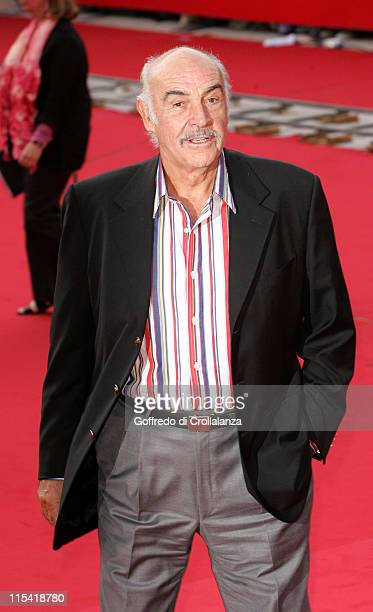 Sean Connery during 1st Annual Rome Film Festival Sean Connery Honoured at Auditorium Parco della Musica Sinopoli Hall in Rome Italy