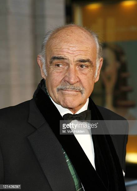 Sean Connery during 'Madama Butterfly' Opening Night Starting the Lincoln Center Metropolitan Opera 20062007 Season at Lincoln Center in New York...