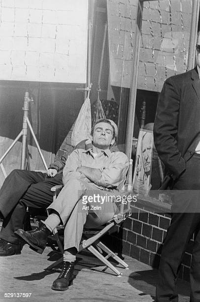 Sean Connery sleeping in the sun He chased Art Zelin when he realized he had taken the picture and told him not to use it circa 1970 New York