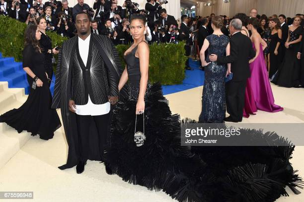 Sean 'Diddy' Combs aka Puff Daddy and Cassie attend the 'Rei Kawakubo/Comme des Garcons Art Of The InBetween' Costume Institute Gala at Metropolitan...