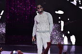 Sean 'Diddy' Combs aka Puff Daddyspeaks onstage during the VH1 Hip Hop Honors All Hail The Queens at David Geffen Hall on July 11 2016 in New York...