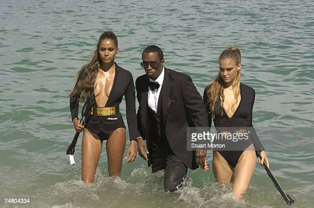 Sean 'Diddy' Combs and Bar Refaeli in