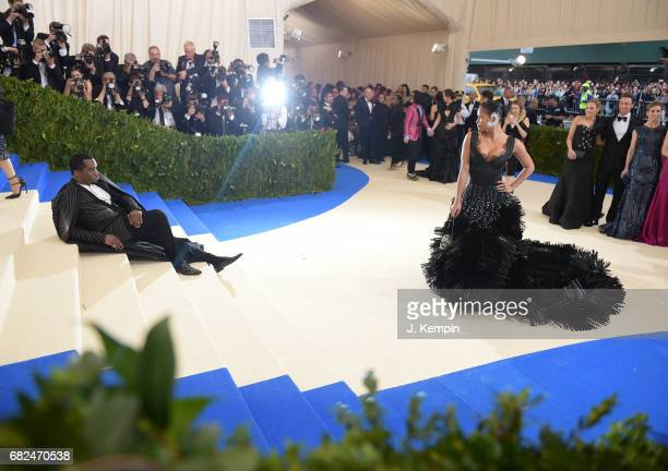 Sean 'Diddy' Combs and Cassie attend the 'Rei Kawakubo/Comme des Garcons Art Of The InBetween' Costume Institute Gala at Metropolitan Museum of Art...
