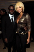 Sean 'Diddy' Combs and singer Keri Hilson attend City Of Hope's Music and Entertainment Industry Presents The Roast Of Stephen Hill at Jazz at...