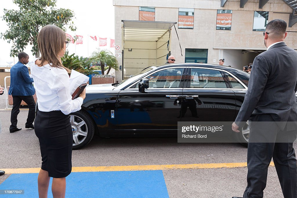 Sean 'Diddy' Combs arrives at the Palais des Festivals as he attends the 'Culture as a Creative Catalyst ' Seminar during the 60th Cannes Lions International Festival of Creativity on June 19, 2013 in Cannes, France.