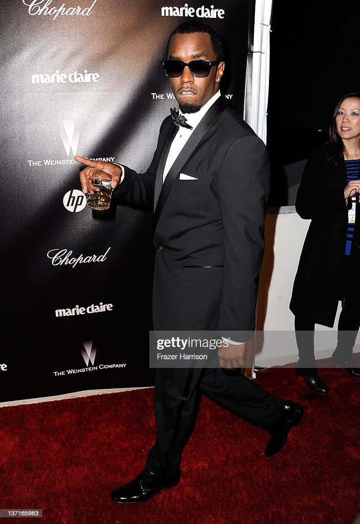 Sean 'Diddy' Combs arrives at The Weinstein Company's 2012 Golden Globe Awards After Party at The Beverly Hilton hotel on January 15, 2012 in Beverly Hills, California.