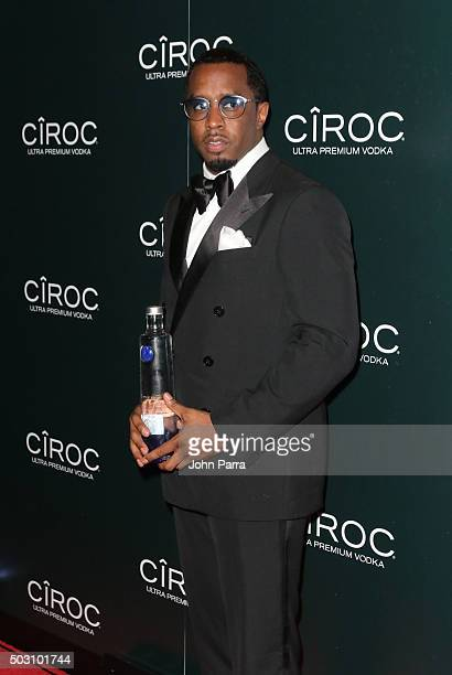 Sean 'Diddy' Combs at Sean 'Diddy' Combs and CIROC UltraPremium Vodka New Year's Eve Party On Star Island in in Miami FL on December 31 2015