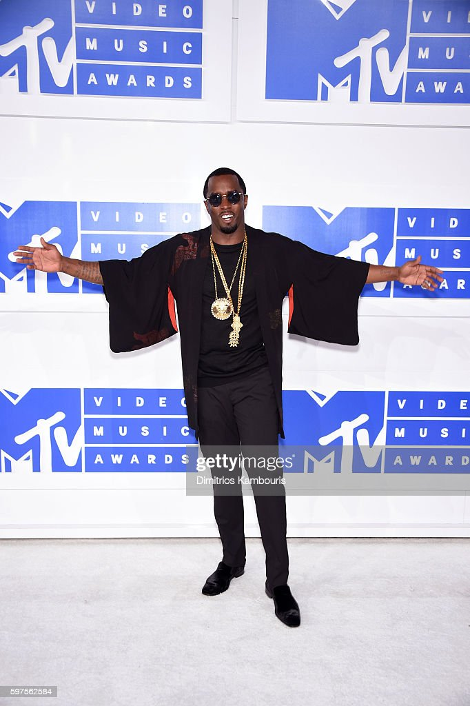 Sean 'Diddy' Combs attends the 2016 MTV Video Music Awards at Madison Square Garden on August 28 2016 in New York City