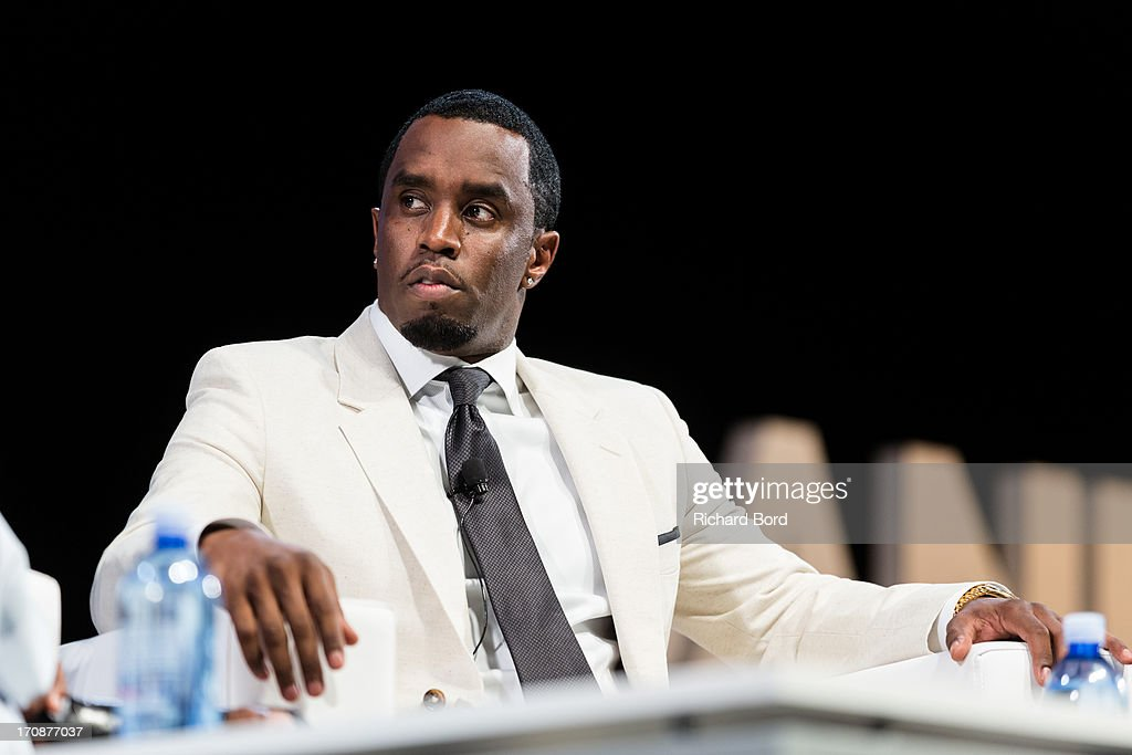Sean 'Diddy' Combs attends the 'Culture as a Creative Catalyst' Seminar at the Palais des Festivals during the 60th Cannes Lions International Festival of Creativity on June 19, 2013 in Cannes, France.