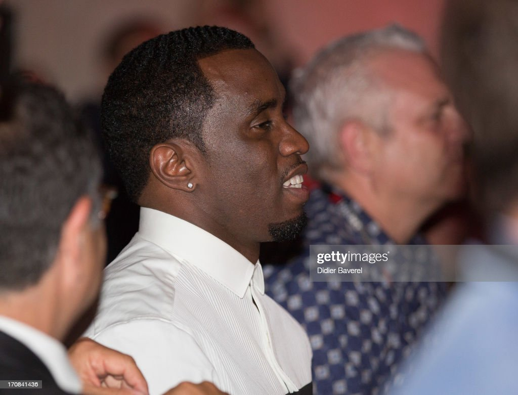 Sean 'Diddy' Combs attends the Michael Buble show at Clear Channel Media and Entertainment and MediaLink VIP Event at Hotel Du Cap-Eden-Roc on June 18, 2013 in Cannes, France.
