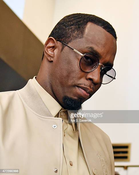 Sean 'Diddy Combs' attends the Sean 'Diddy' Combs Fragrance Launch at Macy's Herald Square on May 6 2015 in New York City