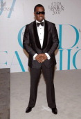 Sean 'Diddy' Combs during 2007 CFDA Fashion Awards Red Carpet at New York Public Library in New York City New York United States