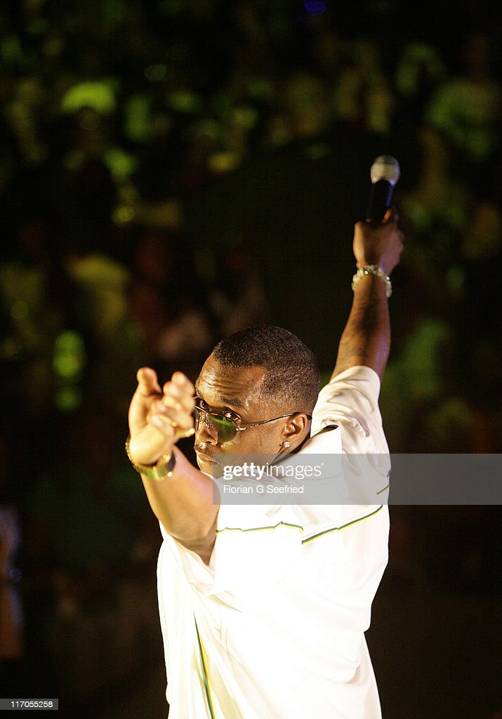Sean 'Diddy' Combs during Radio One Spring Fest Concert - April 28, 2007 at Radio One Spring Fest - Concert in Miami, Florida, United States.