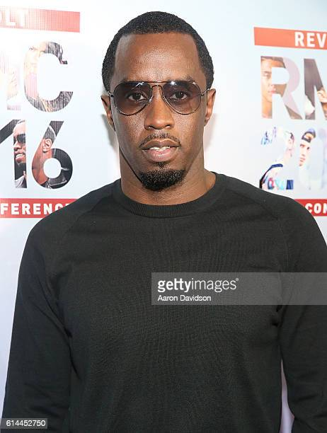 Sean Diddy Combs hosts the KickOff Revolt Music Conference with DJ Khaled at Eden Roc a Renaissance Beach Resort and Spa on October 13 2016 in Miami...