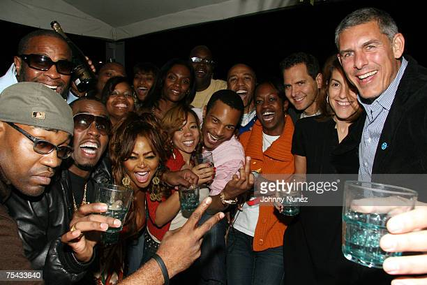 Sean 'Diddy' Combs Lil Kim Kevin Liles Tiny Mike Kaiser Craig Kallman Julie Greenwald Lyor Cohen and guest