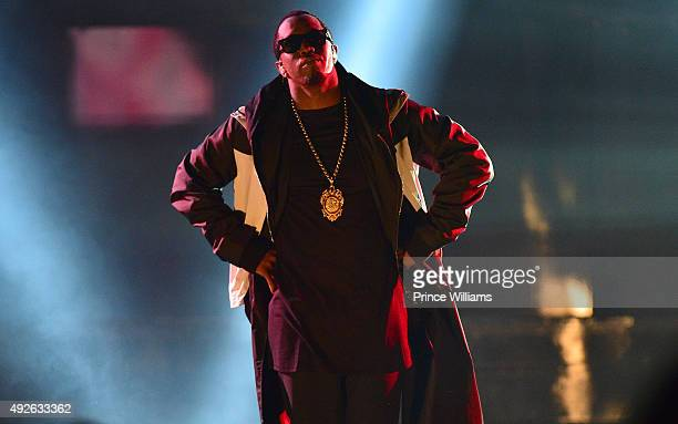 Sean 'Diddy' Combs performs at the 2015 BET Awards at Boisfeuillet Jones Atlanta Civic Center on October 9 2015 in Atlanta Georgia