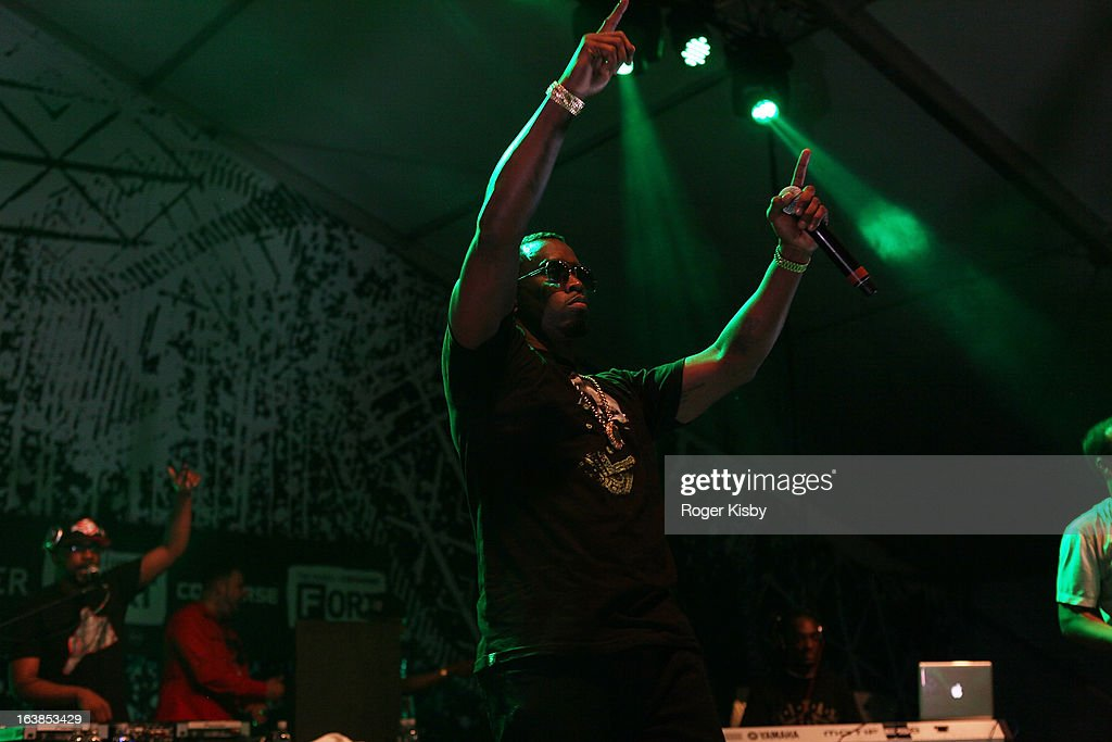 Sean 'Diddy' Combs performs onstage at The Fader Fort by Converse during SXSW on March 16, 2013 in Austin, Texas.
